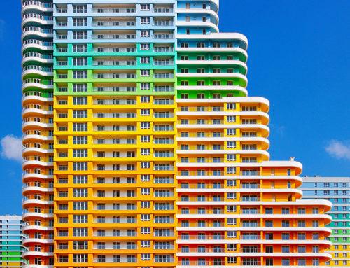 万花筒似的建筑 istanbul's architecture as kaleidoscopic color canvasses