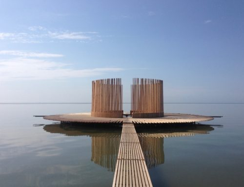 漂浮的观景台 floating observatory