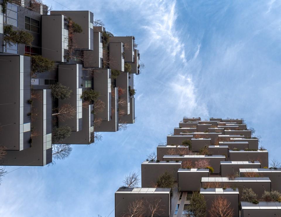 垂直森林/米兰可持续住宅塔楼