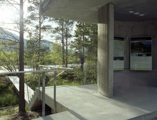 Strømbu服务中心与休息区