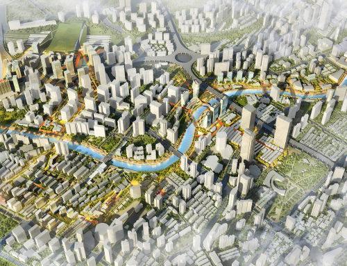 上海苏州河两岸城市设计