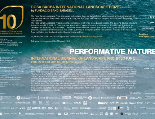 """Perfomative nature""10th International Biennale of Landscape Architecture"