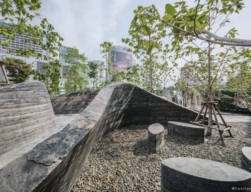 曼谷Patumwananurak公园艺术设施 Crafted Land