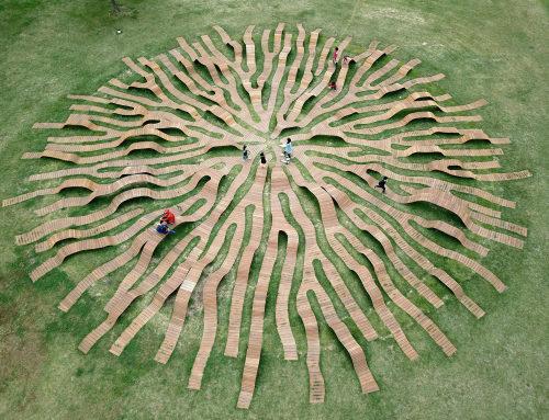 草地长椅,韩国