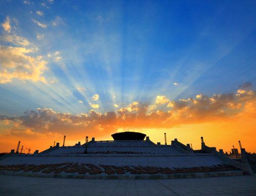 鄂托克前旗敖勒召其镇圣火公园,内蒙古