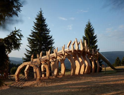 Pecka游戏景观装置,捷克