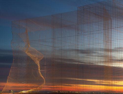 """""""边界""""艺术装置,巴塞罗那"""