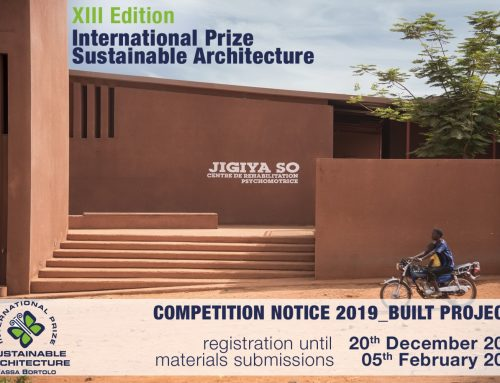 Thirteenth International Prize for Sustainable Architecture