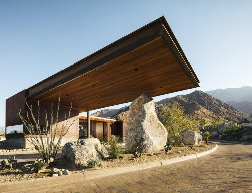Desert Palisades门卫室,加利福尼亚