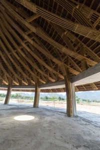Bamboo conical dome (4)