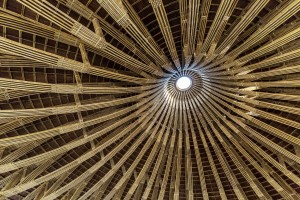 Bamboo conical dome (7)