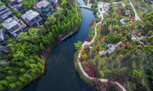 001-the-redstone-garden-for-luxelake-residential-community-in-chengdu-china-by-ecoland